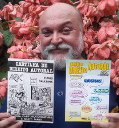 """""""Cartilha de Direito autoral da AQC-ESP - Associação dos Quadrinhistas e Caricaturistas do Estado de São Paulo' de autoria do Doutor Flávio Calazans"""