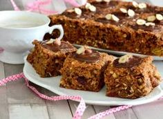 super zdrowe ciasto wysokobłonnikowe (bez miksera) Healthy Eating, Healthy Food, Gluten Free, Healthy Recipes, Sweet, Desserts, Pastries, Cakes, Diet