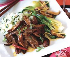 Twice-Cooked Five-Spice Lamb with Red Chiles - Bon Appétit Lamb Recipes, Asian Recipes, Healthy Recipes, Oriental Recipes, Middle Eastern Recipes, Asian Cooking, Indian Dishes, Spices, Favorite Recipes