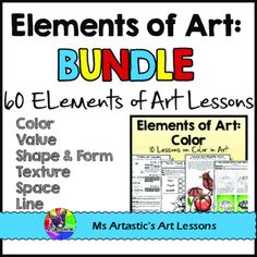 7 elements of art space