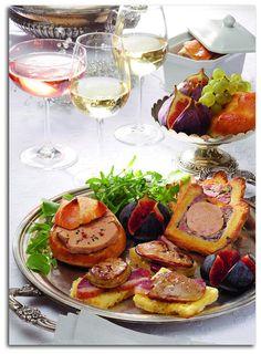 Avec du Foie Gras, pour les fêtes, découvrez un somptueux plateau de 3 belles recettes à partager ! #foiegras #recettes #noel #nouvelan