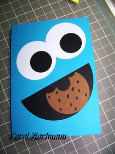 Cookie Monster punch art