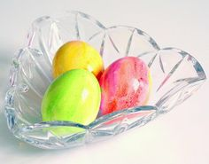 Easy DIY Watercolor Easter Eggs