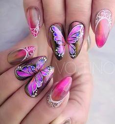gel-nail-top-nail-design-trends%2B%252840%2529 Polish Nail design top 45 Gel Nail Art Nail Art Polish Nail design
