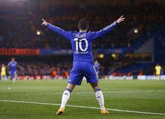 Eden hazard Chelsea FC www.findaballer.com