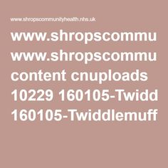 www.shropscommunityhealth.nhs.uk content cnuploads 10229 160105-Twiddlemuff%20Instructions%20Crocheting.pdf   45 ch