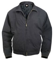 concealed carry jacket 3 season jacket $72.01 100% washed cotton outershell. two front zipper pockets with tricot lining.two inner concealment pockets with padded insides and hook and loop closures. (one on right side and one on left side). black or khaki. three season concealed carry jacket. Military Gifts. Christmas Gifts.  http://www.armynavyshop.com/prods/rc5385.html