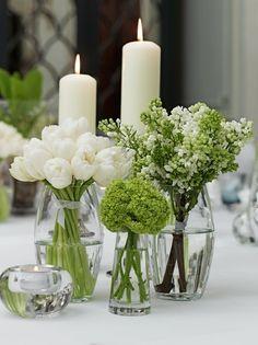 26 Ideas Wedding Invitations Diy Shabby Chic Flower For 2019 Wedding Table Decorations, Flower Decorations, Wedding Centerpieces, White Flower Centerpieces, Table Flowers, Spring Flowers, White Flowers, Beautiful Flowers, Flowers Garden