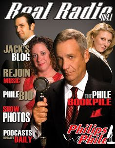 Phillips Phile on Real Radio!  My fave