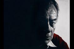 Portrait of Renato Guttuso  pencil on paper 33x48 cm
