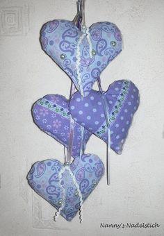 Lavendel-Herzen
