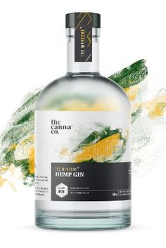 Australia's The Cannabis Co releases 'world's first' cannabis gin Food Packaging Design, Coffee Packaging, Bottle Packaging, Whisky, O Gin, Body Of Evidence, Craft Gin, Food Design, Design Design