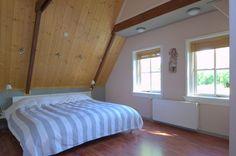 Slaapkamer met inloopkast #slaapkamer