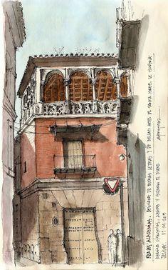 Reales Academias, Sevilla, de Alfonso García AG