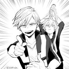 Anime Meme, Manga Anime, Me Anime, Anime Guys, Buko No Hero Academia, My Hero Academia Memes, Hero Academia Characters, My Hero Academia Manga, Anime Characters