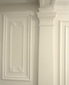 The ONE White Trim Color That Works Every Time - There's one Benjamin Moore white paint color that works every. Trim Paint Color, White Paint Colors, Interior Paint Colors, Paint Colors For Home, Neutral Paint, Dark Colors, House Colors, Best White Paint, White Paints