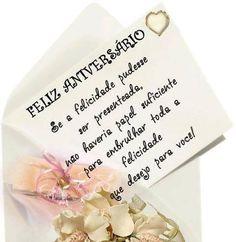 Feliz Aniversário! Felicidade para você! #felicidades #feliz_aniversario #parabens
