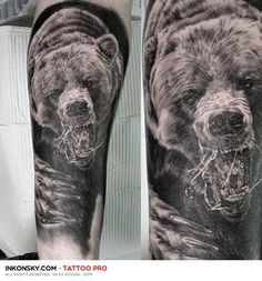 Grizzly bear I did this afternoon. Not Not the best pic, thanks for looking…