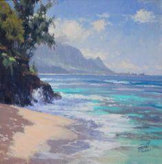 Art Kauai,Plein Air Art Painting in Hawaii