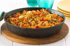 Chicken Italiano skillet. One pot wonder