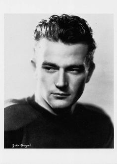 John Wayne 1931 (photo by William A. Fraker) Sent from my sweet friend Mara. Hollywood Men, Golden Age Of Hollywood, Vintage Hollywood, Hollywood Stars, Classic Hollywood, Vintage Glam, Hollywood Glamour, Old Movie Stars, Classic Movie Stars