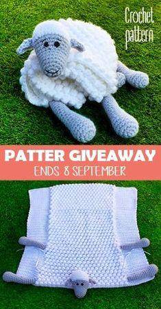 ORIGINAL Cuddle and Play 2 in 1 crochet sheep cuddly toy makes a cute, original . ORIGINAL Cuddle and Play 2 in 1 häkeln Schaf-Kuscheltier macht ein süßes, originelles … ORIGINAL Cuddle and Play 2 in 1 crochet sheep cuddly toy makes a cute, original … # Crochet Baby Blanket Beginner, Easy Baby Blanket, Crochet Blanket Patterns, Baby Patterns, Baby Knitting, Knitting Patterns, Sewing Patterns, Crochet Sheep, Easy Crochet