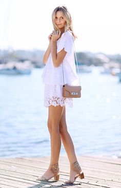 Tuula Vintage is your shop for whimsical white outfits! // #Fashion