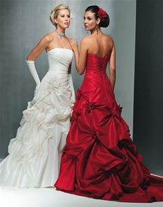 Maggie sottero red dress