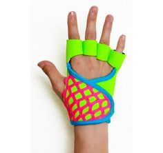 From The Rad Collection, The Back to The Future workout glove is 80's inspired!   This glove is meant for a hard core workout.  Don't let the innocent looks fool you!