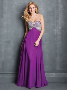Microbeaded Bodice by Night Moves by Allure, $398, nightmovesprom.com