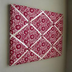 16x20 Memory board Bow Board Ribbon Board Bow by MemoriestoYou, $68.00