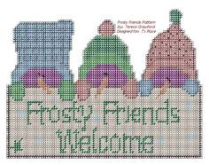 Frosty Friends Welcome Pattern