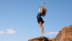 "On taking chances -- ""I am ready and willing to LEAP into my greatness. I trust that the net will appear and I will soar!"""