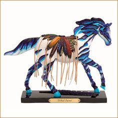 Trail of Painted Ponies Tribal Paint Horse Figurine, Retired