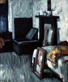 Studio Interior / Samuel John Peploe / oil on canvas Studio Interior, Interior Office, Painting Studio, Art Uk, Your Paintings, Great Artists, Art Gallery, Art Prints, Office Doors
