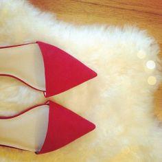 Zara pointy toe flats