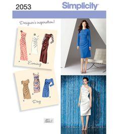 Simplicity Pattern 2053R5 14-16-18-2-Simplicity Misses