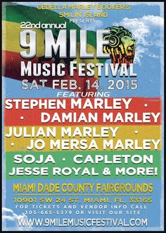 22nd Annual 9 Mile Music Festival