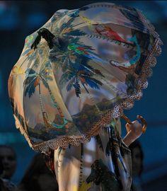 TSUMORI CHISATO - Womenswear Haute Couture Parasol