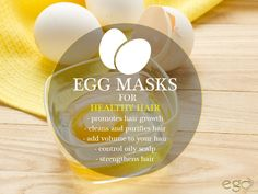 #EGG MASKS FOR #healthy #hair . Via: http://www.goego.in