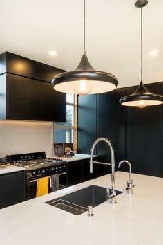 stunning new kitchen by KMD Kitchens Auckland Kitchen Manufacturers, Beautiful Kitchens, Ceiling Lights, Modern Kitchen, Home Decor, Kitchen, New Kitchen, Renovations, Kitchen Renovation