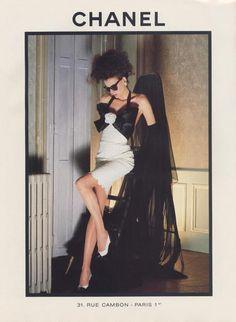 Chanel 1986 - Model : Inès de la Fressange