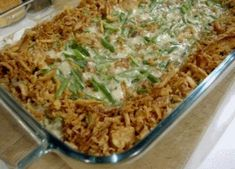 Dairy free green bean casserole- @Rona Troutman! Found one! Whoop!