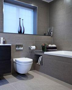 Modern ve sakinleştirici bir banyo dekorasyonu  #dekorasyon #banyo