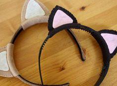 Dit Kitty Ears Headband