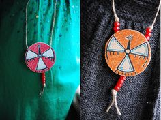 DIY Native American Medallions | Family Chic by Camilla Fabbri ©2009-2012. All rights reserved. The blog
