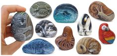 Unique Holy Communion/Wedding/Baptism/Confirmation Favors | Original Pieces of Art Hand-Painted on Natural Sea Rocks | The Art of Roberto Rizzo | www.robertorizzo.com