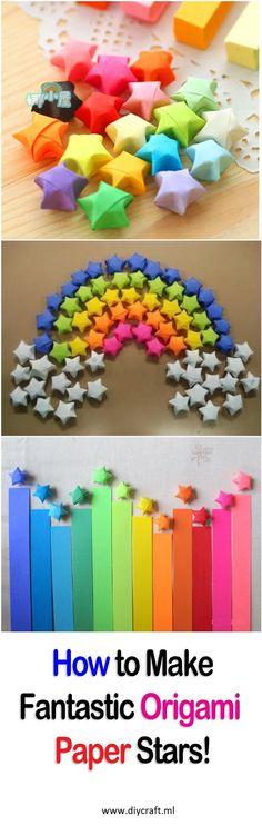 How to Make Fantastic Origami Paper Stars! Visit: http://diycraft.ml/how-to-make-fantastic-origami-paper-stars/