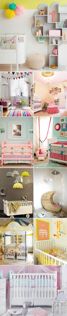 17 Lovely and Chic Nursery Room Design Ideas