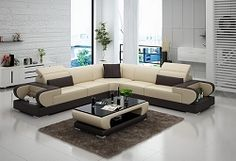 Saffi Italian Leather Sectional